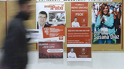 Arranca oficialmente la campaña electoral de las primarias del PSOE