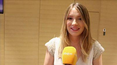 """Eurovisión 2017 - Blanche: """"Manel me ha saludado y ha sido encantador"""""""