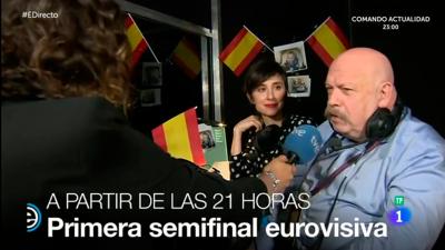España Directo - Los favoritos de José María Iñigo y Julia Varela para la primera semifinal de Eurovisión 2017