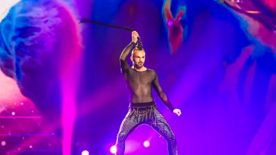 Eurovisión 2017 - Montenegro: Slavko Kalezic canta 'Space'