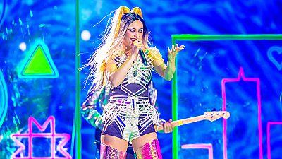 """Eurovisión 2017 - Letonia: Triana Park canta """"Line"""""""