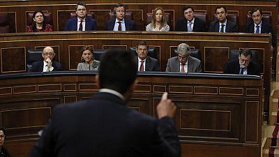 """Rajoy defiende la actuación de Moix y pide al PSOE que sea """"constructivo"""""""