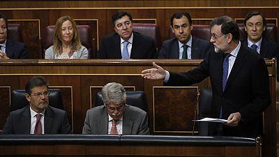 La corrupción protagoniza la sesión de control en el Congreso