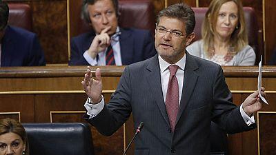 Catalá defiende la transparencia de las actuaciones judiciales y asegura que no dimitirá