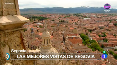 España Directo - Descubrimos las mejores vistas de Segovia
