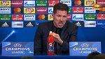 """Simeone: """"Es una pena no poder clonar a algunos jugadores"""""""