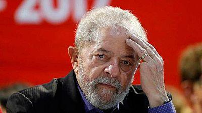 """Lula da Silva, tras declarar por el caso Petrobras: """"Estoy preparándome para ser candidato a la presidencia"""""""