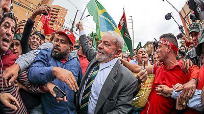 El ex presidente brasileño, Lula Da Silva, niega ente el juez las acusaciones de corrupción
