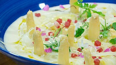Torres en la cocina - Ensalada de espárragos blancos