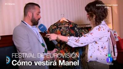 España Directo - Esta será la camisa que lucirá Manel en Eurovisión 2017