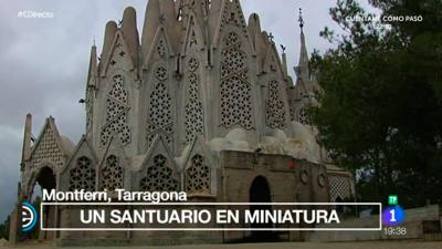 España Directo - Una pequeña Sagrada Familia en Montferri