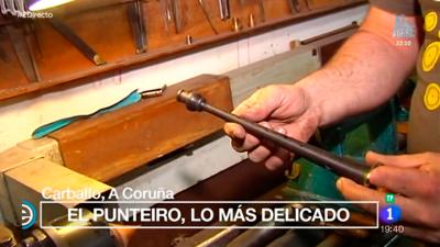 España Directo - Así se hacen las gaitas de Carballo, A Coruña