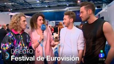 España Directo - Los representantes de Austria e Israel nos animan a ver Eurovisión 2017