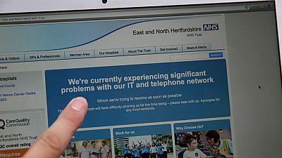 El ciberataque bloquea los sistemas de hospitales británicos