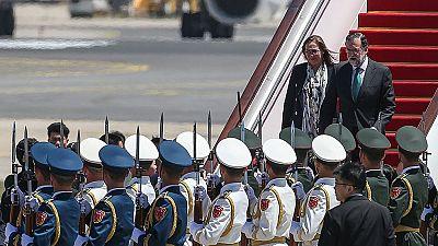 Rajoy llega a Pekín para asistir al foro sobre la Nueva Ruta de la Seda