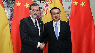 Rajoy presenta España ante Xi Jinping como ejemplo de la senda reformista que necesita China