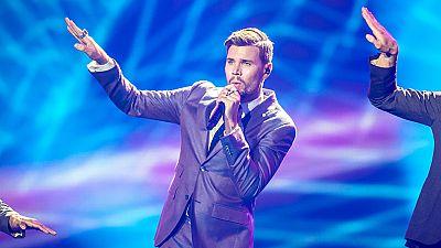 Eurovisión 2017 - Suecia: Robin Bengtsson canta 'I can't go on'