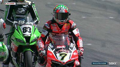 Motociclismo - Campeonato del Mundo Superbike. WSBK 2ª Carrera, prueba Imola (Italia) - VER AHORA
