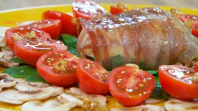 Torres en la cocina - Ensalada de espinacas, mozzarella y bacon
