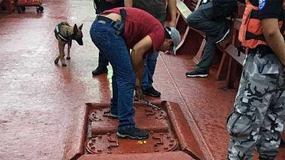 Interceptan en aguas de Ecuador un buque con 5.529  kilos de cocaína con destino a Europa
