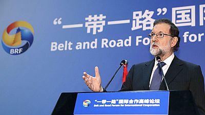 Rajoy  pide seriedad  al PSOE y no dedicarse a pedir su dimisión desde Pekín