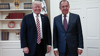 Trump reveló información clasificada al ministro ruso Lavrov, según el Washington Post