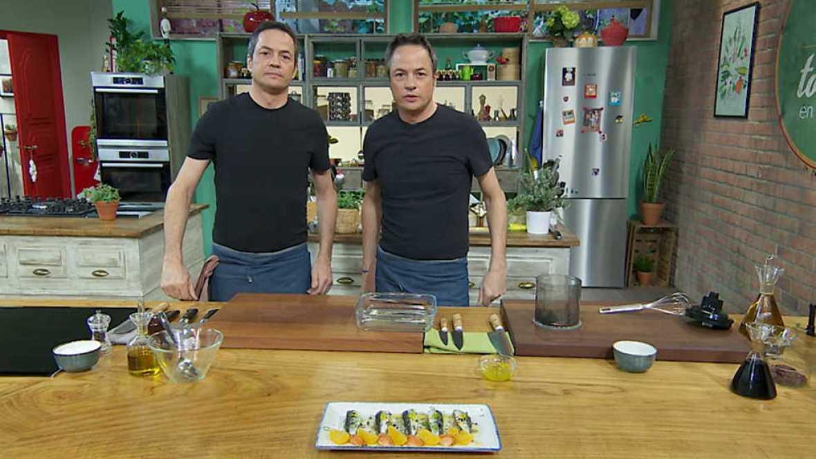 Torres en la cocina - Ensalada de sardinas y corvina con quinoa - ver ahora