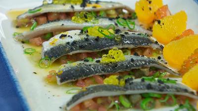 Torres en la cocina - Ensalada de sardinas y naranja