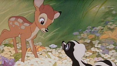 Se cumplen 75 años del estreno de 'Bambi' y sus voces originales le han rendido homenaje en Hollywood.