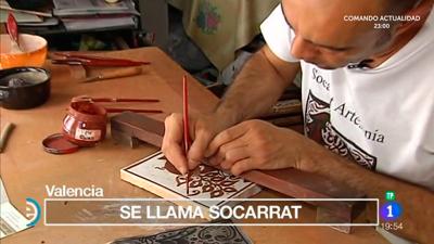 España Directo - Así se hace la cerámica de Socarrat en Valencia