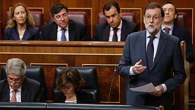 Rajoy mantiene su confianza en el ministro de Justicia a pesar de la reprobación