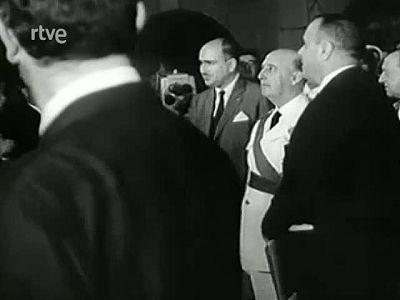 Historia de TVE - Inaguración de los estudios de Prado del Rey - Imágenes repicadas de 4 noticiarios de nodo que recogen los comienzos de Prado del Rey