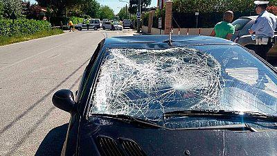 El motociclista Nicky Hayden se encuentra en estado crítico tras ser atropellado en Italia cuando se encontraba entrenando con su bicicleta.
