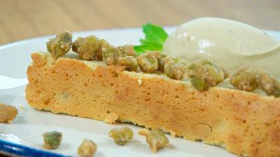 Torres en la cocina - Blondie con pistachos