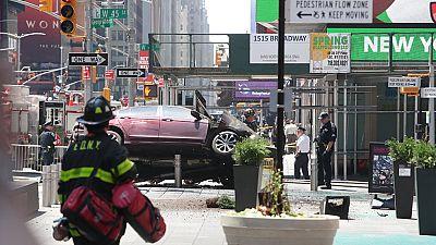 Un atropello en la plaza de Times Square de Nueva York deja un muerto y varios heridos