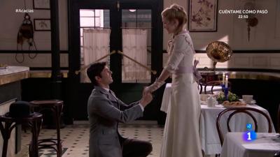 Acacias 38 - Simón pide a Elvira que se case con él