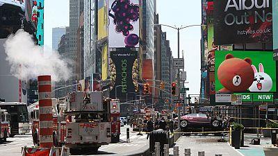 Un conductor ebrio mata a una persona y deja una docena de heridos en un atropello múltiple en Times Square