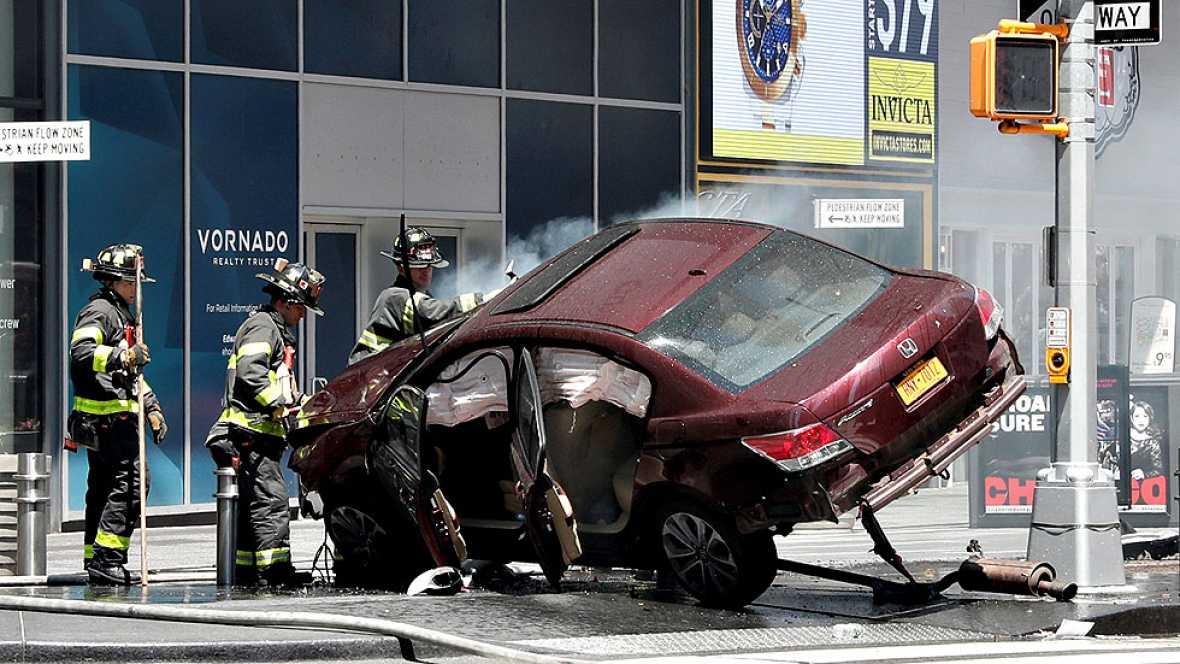 Muere una persona en un atropello múltiple en Times Square, en el centro de Nueva York