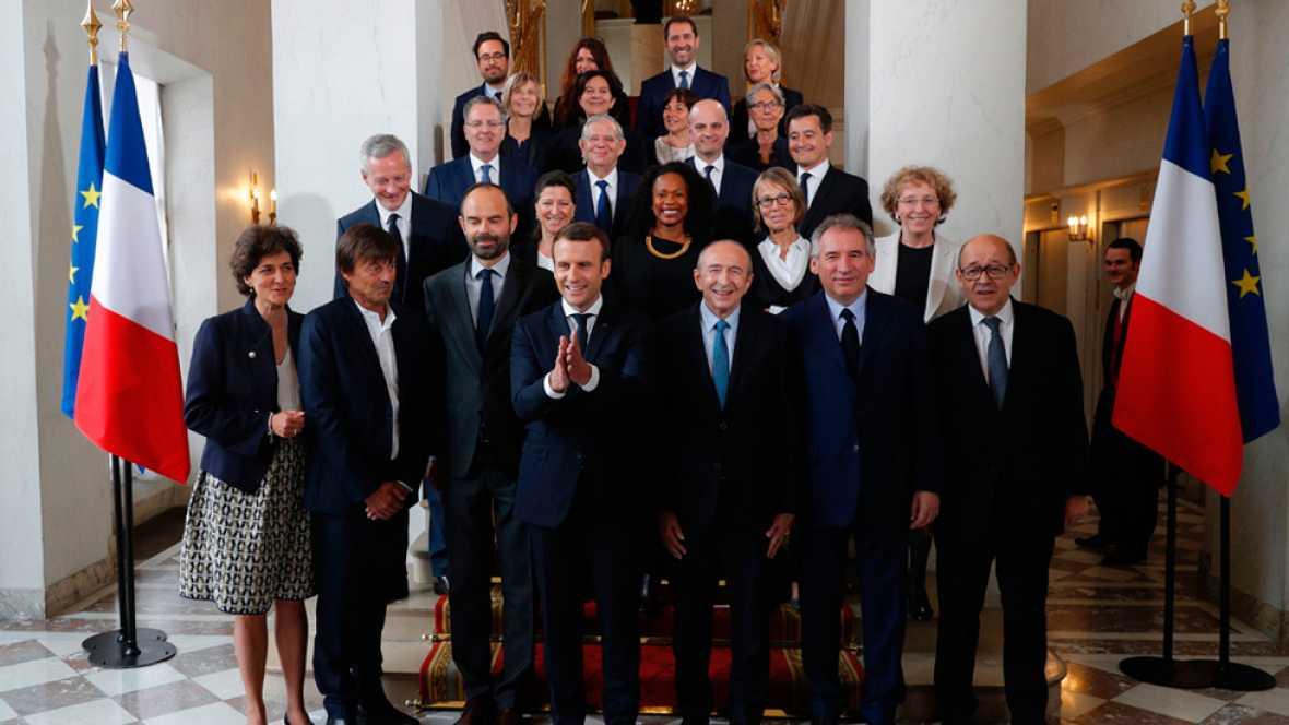 Arranca el nuevo gobierno francés con Europa y la ecología en el centro de su proyecto
