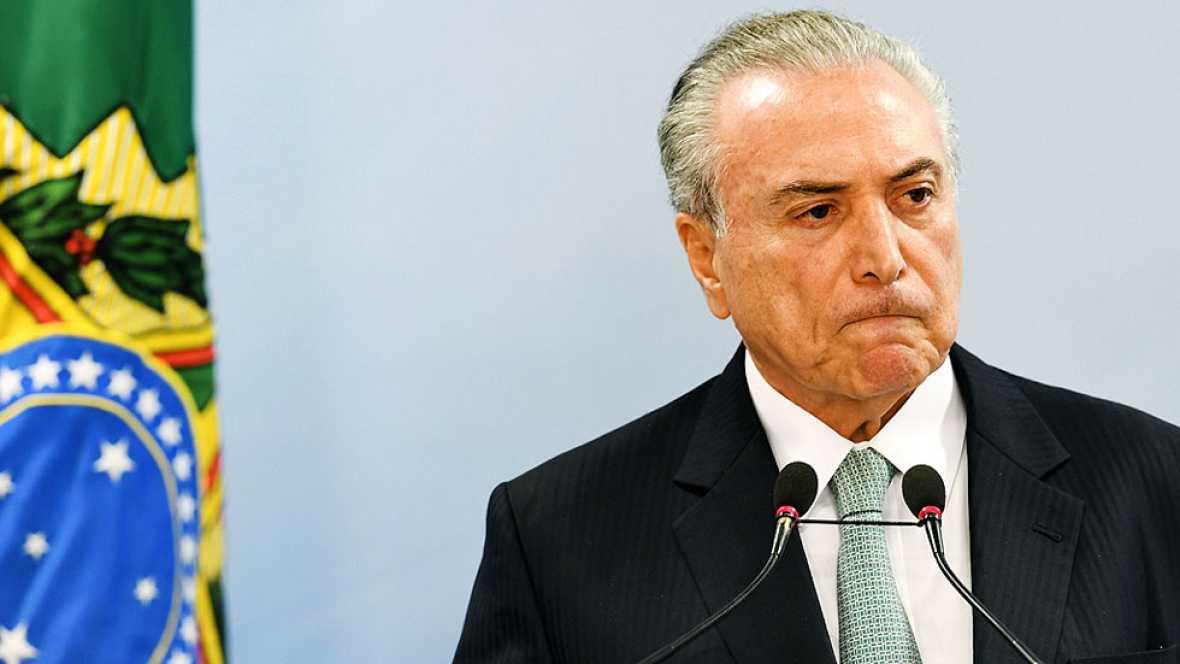 El Supremo brasileño autoriza investigar a Temer por el supuesto soborno a un diputado