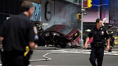 El conductor del atropello de Times Square conducía drogado, no borracho