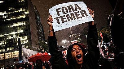 Miles de brasileños salen a la calle para exigir la renuncia de Michel Témer