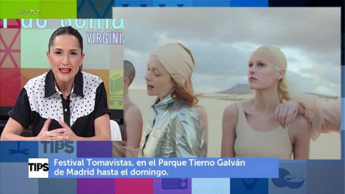 TIPS - Propuestas para el fin de semana de Virginia Díaz
