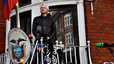 """Assange califica de """"victoria"""" la decisión de Suecia de cerrar la investigación contra él"""