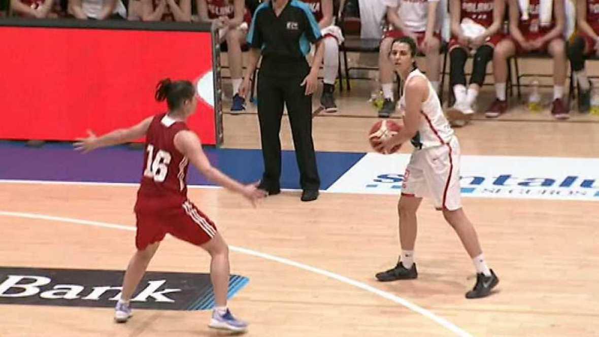 Baloncesto femenino - Gira Selección: España - Polonia - ver ahora