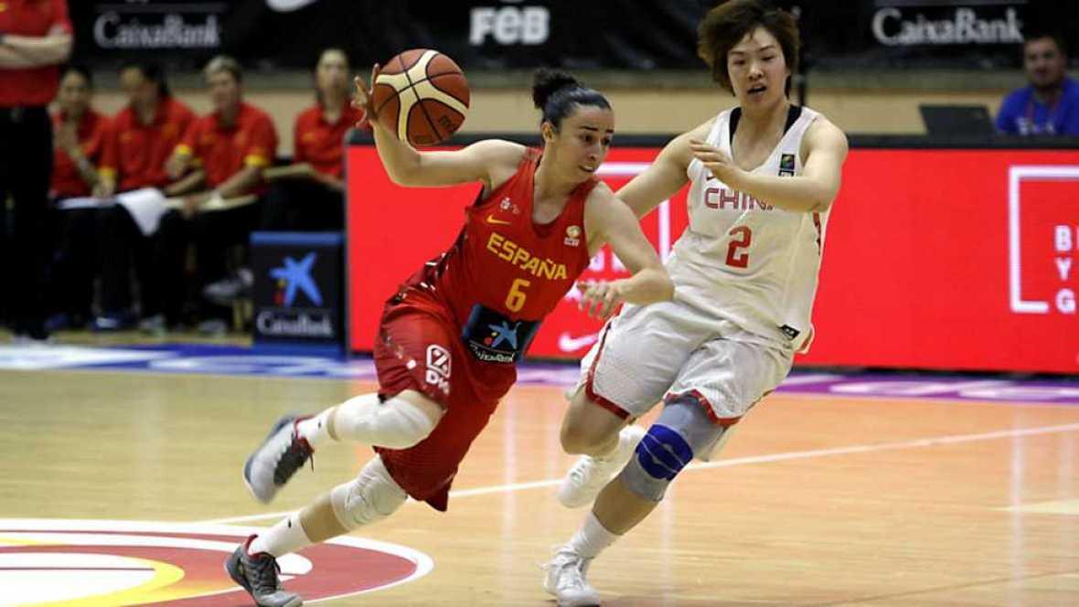 Baloncesto femenino - Gira Selección: España - China - RTVE.es