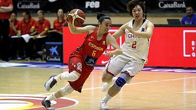 Baloncesto femenino - Gira Selección: España - China - ver ahora