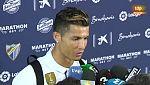 """Cristiano Ronaldo: """"Este año tengo menos partidos en las piernas y se nota"""""""