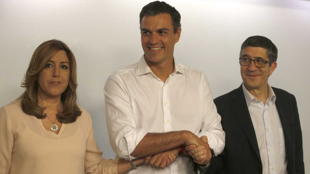 """Pedro Sánchez recupera la secretaría general y promete un """"PSOE unido rumbo a La Moncloa"""""""