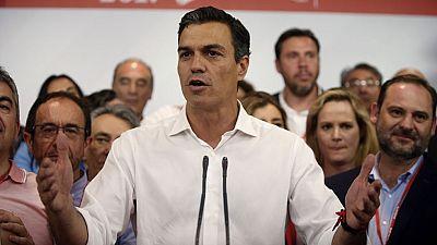 Sánchez, reelegido secretario general del PSOE